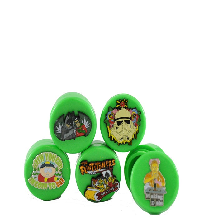 Pin Character Concentrate Jars - Assorted Designs