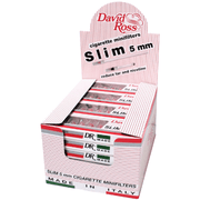 David Ross Minifilters Slim 5mm - 24 Pack Display Case