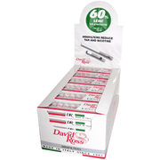 David Ross Regular Minifilters - 24 Pack Display Case