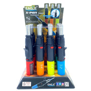 "Eagle 8"" X-Pen Torch with Extended Nozzle - 12 Pack"