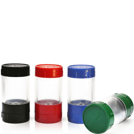 Icon Smoke Grinder & Container - 12 pcs