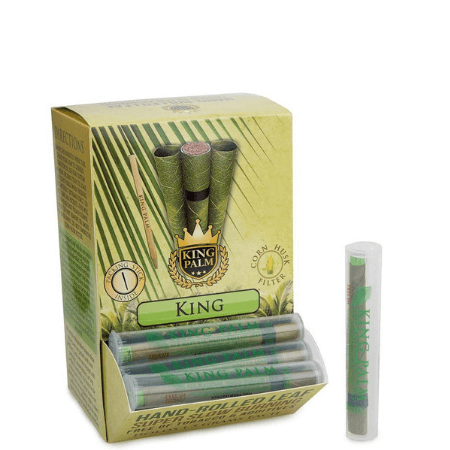 King Palm Dispenser Tub - 50 Single King Tubes