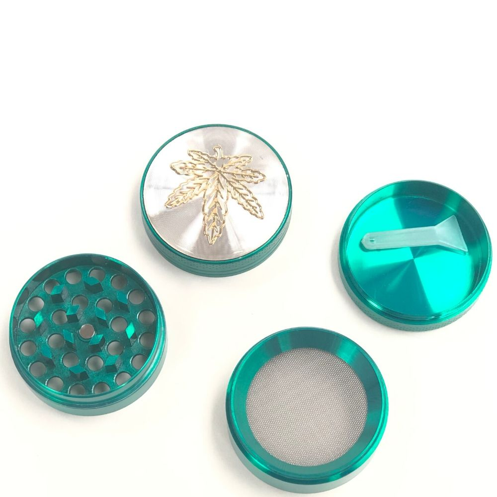 Leaf Bedazzled 40mm 4-Piece Grinder