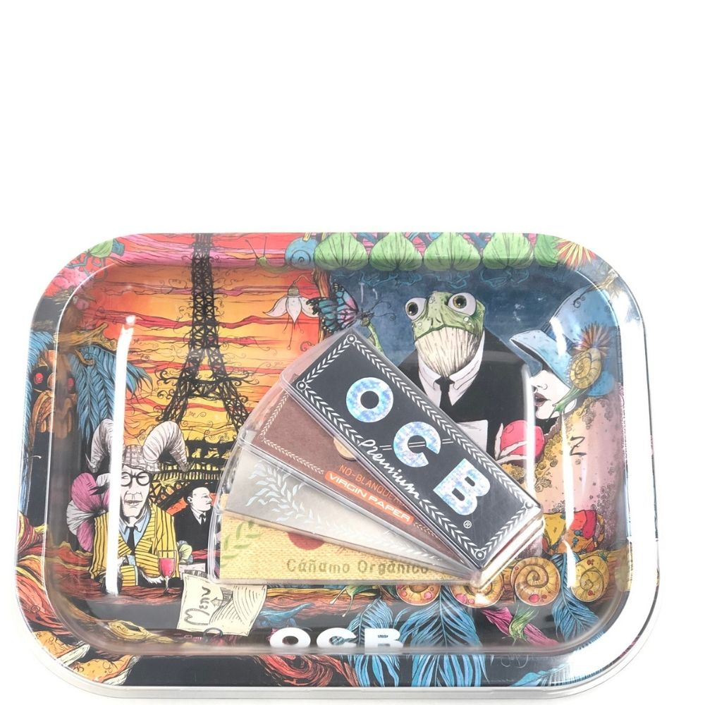 OCB Tray & Paper Bundle - Design 1