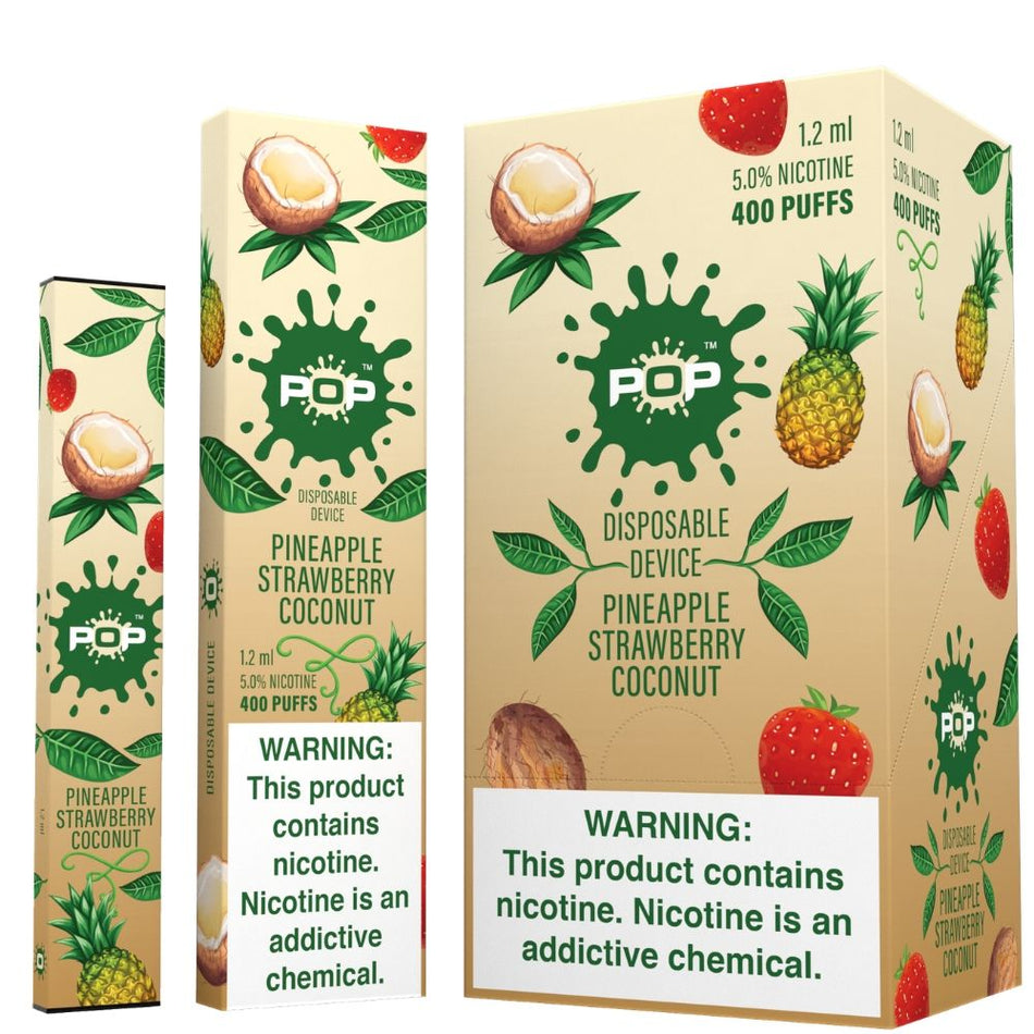 Pop Disposable Pod Device - 10 Pack