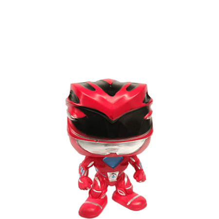 Power Rangers Red 25mm 4-Piece Grinder