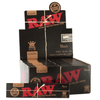 Raw Classic Black KS Slim - 50 Pack Display Box