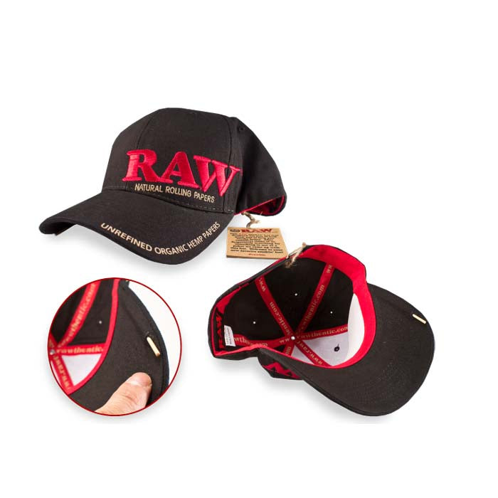 Raw 5 Panel Poker Hat