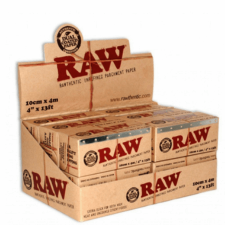 Raw Parchment Paper 4″ x 13ft - Single Pack