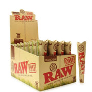 RAW Organic Hemp King Size Cones - 32 Pack