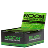 RooR King Size Unbleached Rolling Papers - 50 Booklets Box