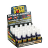 Scent Bomb Odor Eliminators - 20 Bottles Display Case