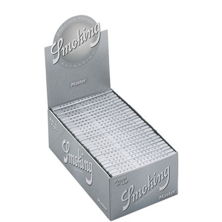 Smoking Master Extrafino Rolling Papers – 50 Pack Box