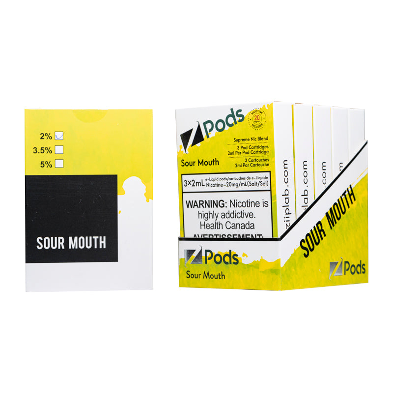 Z Pods S Compatible 5% Strength - 5 Pack
