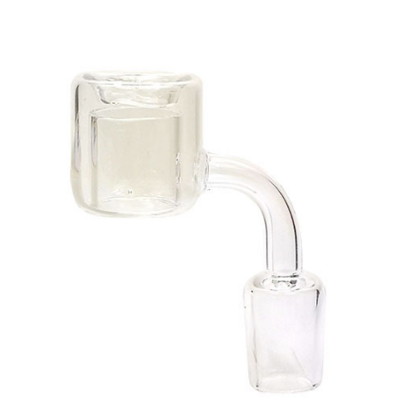 Quartz Glass Double Wall 18mm Thermal Banger – Male/ Female