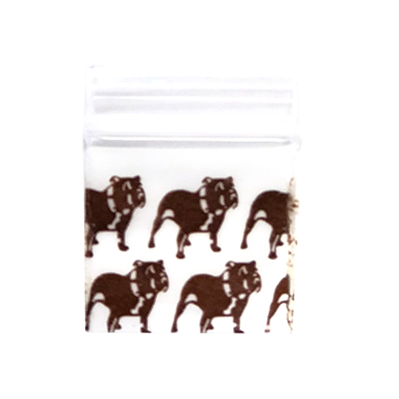 Apple Baggies 1″ x 1″ - Pack of 1000 (12 Designs)