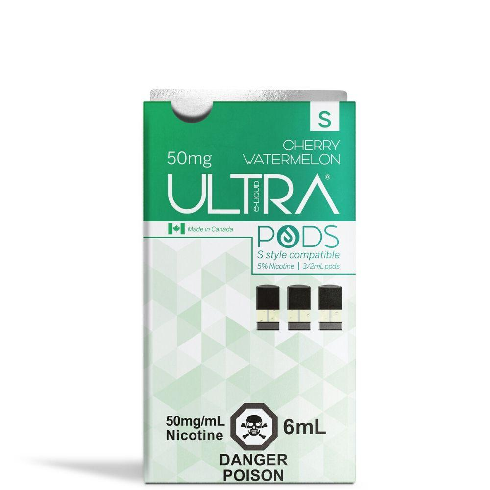 Ultra Pods STLTH Compatible 3.5% Strength - Cherry Watermelon Flavour