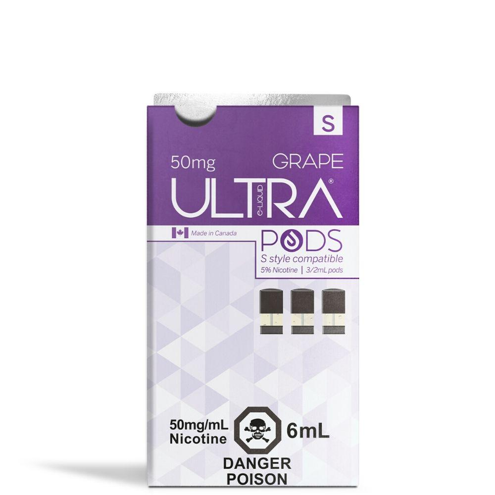 Ultra Pods STLTH Compatible 5% Strength - Grape Flavour
