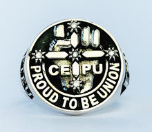 Load image into Gallery viewer, CEPU S.A. Members Ring, 20mm with Diamonds