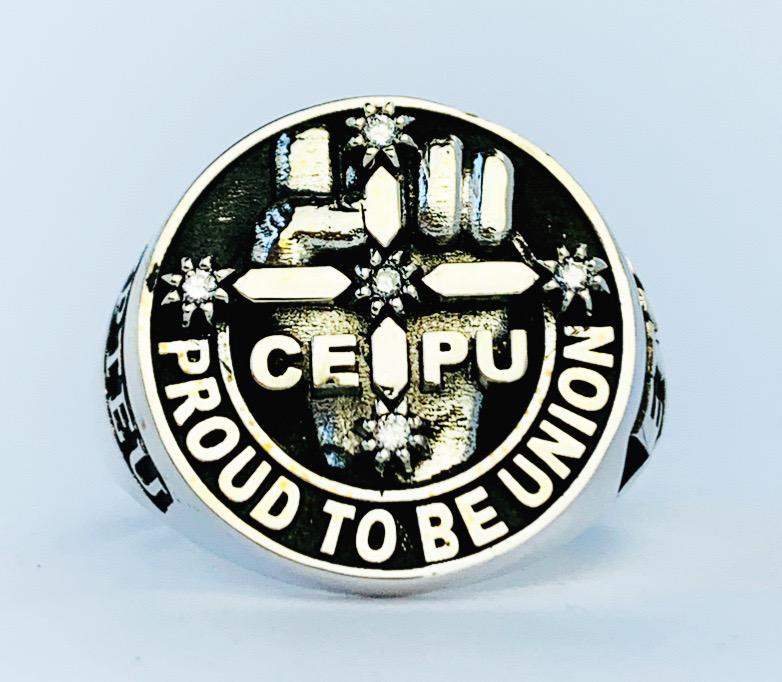 CEPU S.A. Members Ring, 20mm with Diamonds