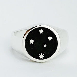 Southern Cross Gents Ring, Silver