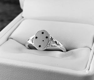 Southern Cross Ladies Ring, Silver