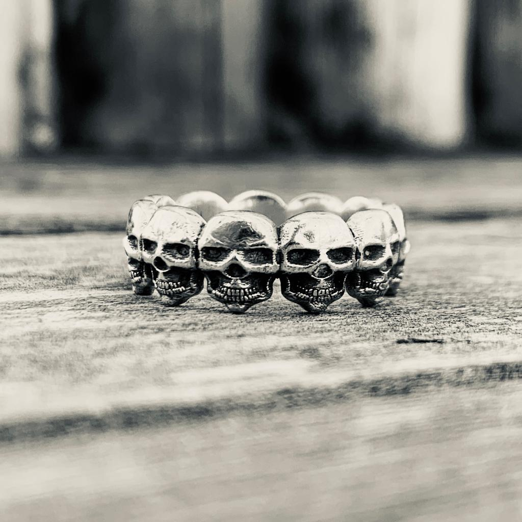 Till Death Do Us Part Ring, Silver