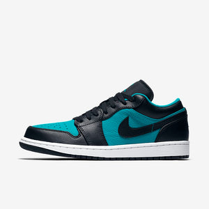 2f1a374a5e0 Air Jordan 1 Low - Black White Turbo Green