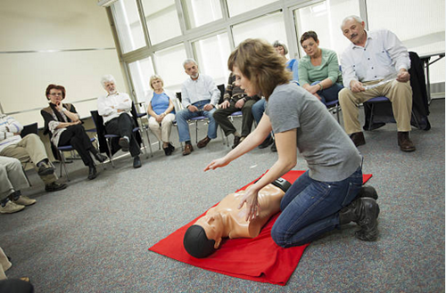 Red Cross CPR Instructor