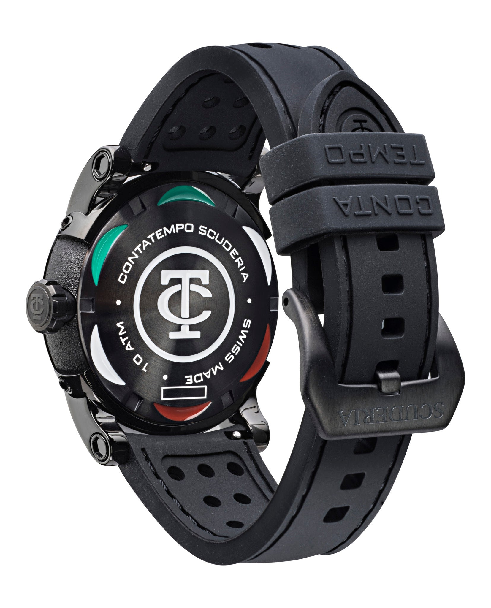CT Scuderia Testa Piatta Watch