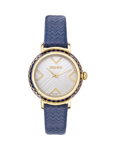 Chevron Joyful Leather Watch