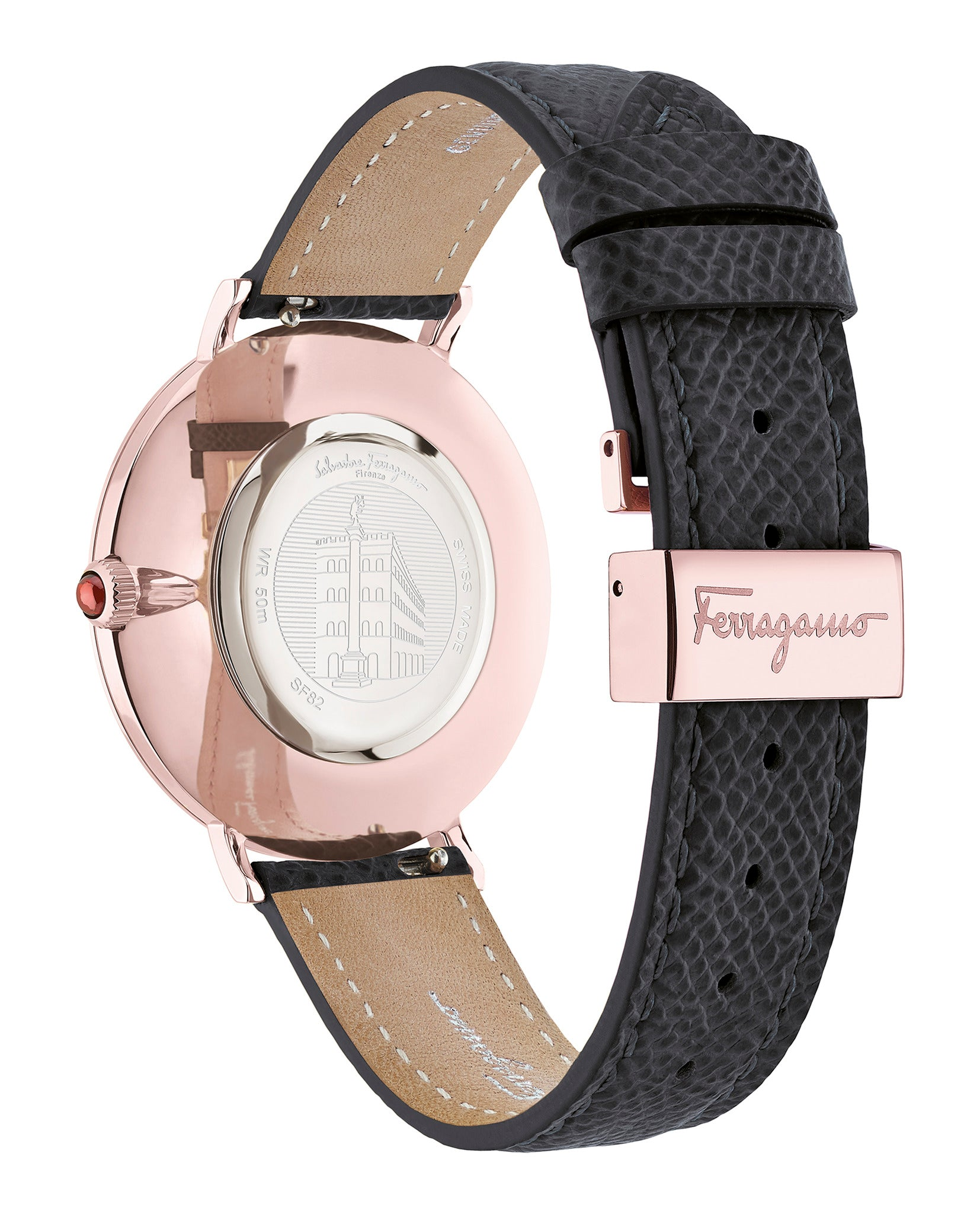 Minuetto Leather Watch