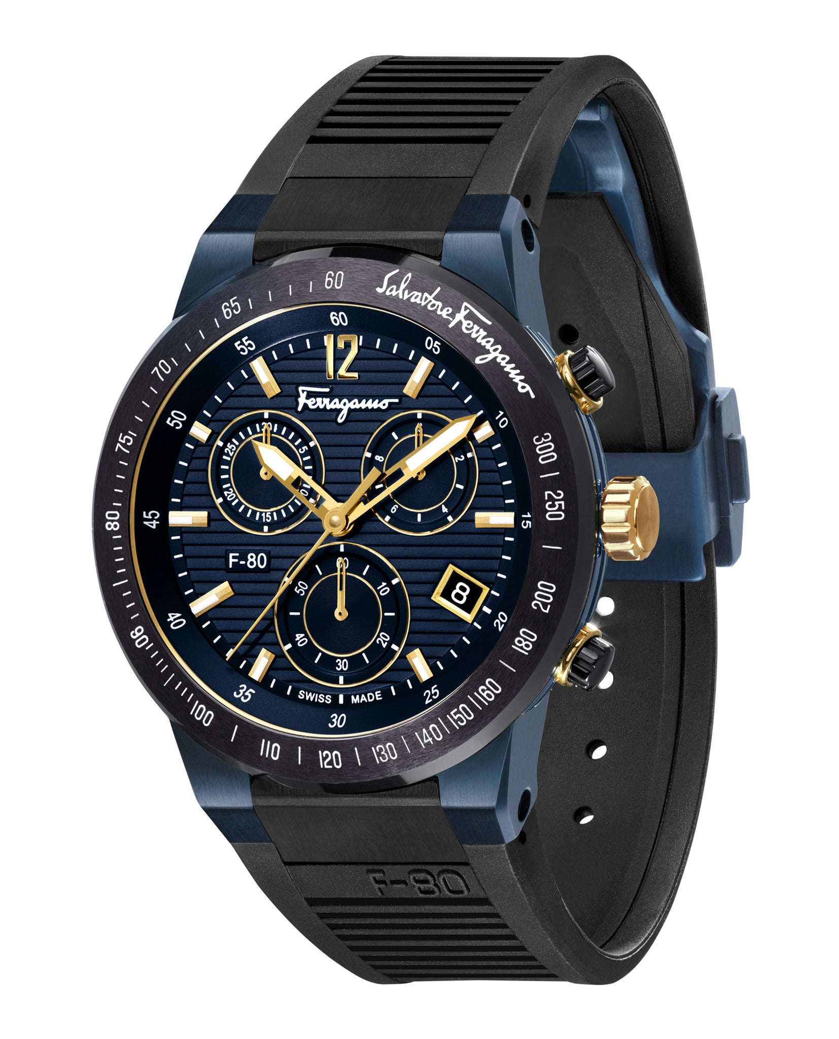 Salvatore Ferragamo F-80 Chrono Watch
