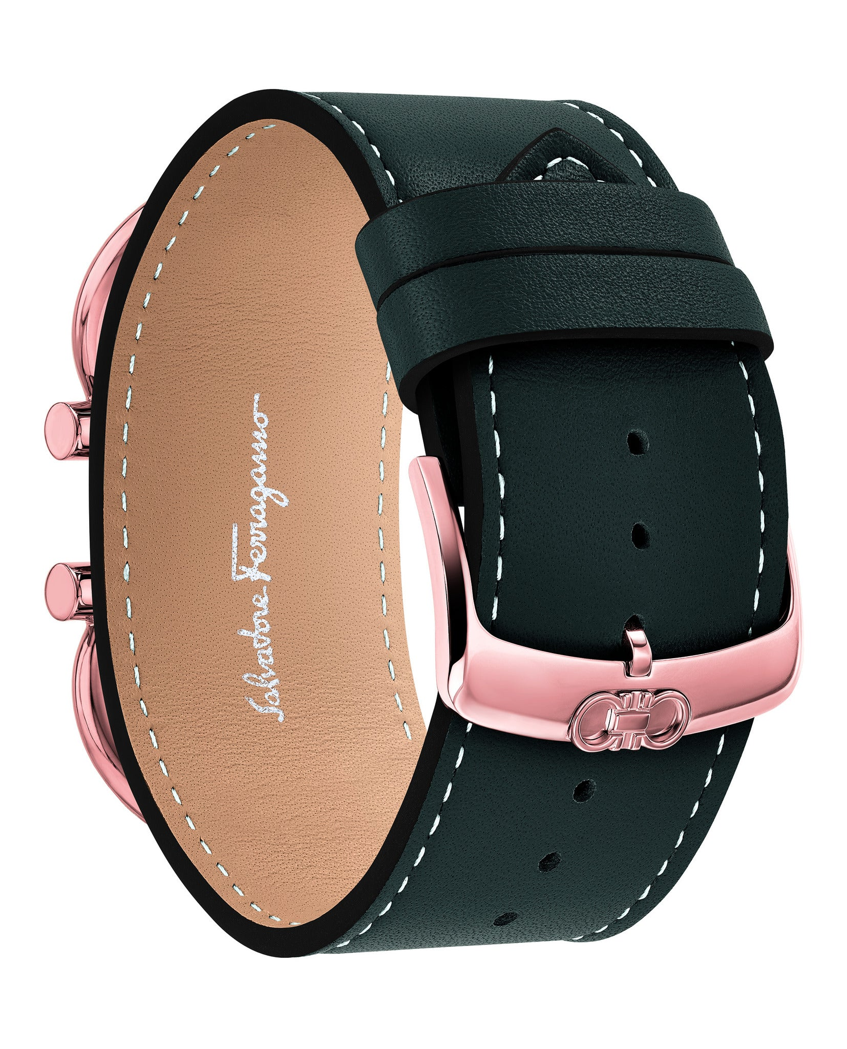 Salvatore Ferragamo Double Gancini Cuff Watch