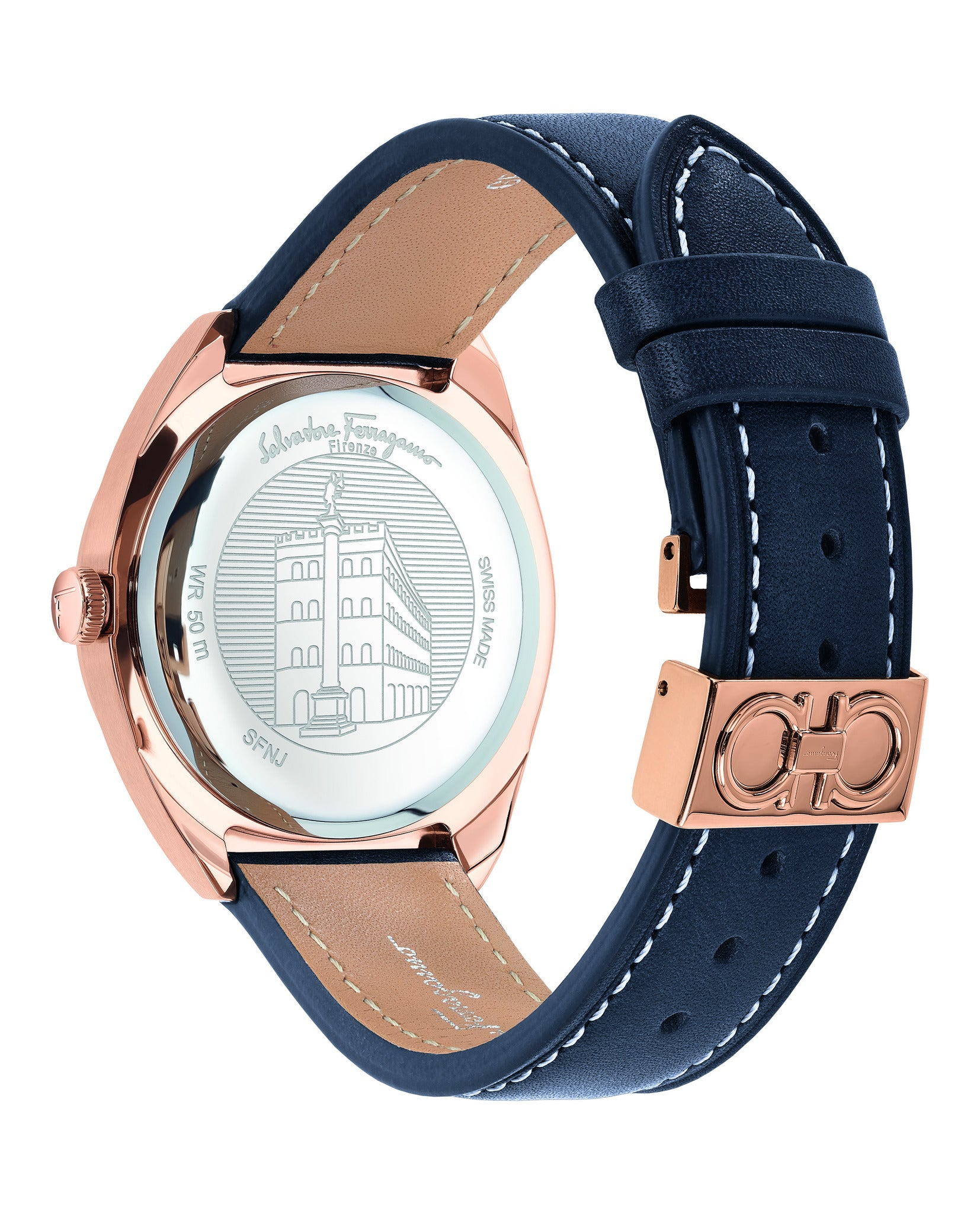 Ferragamo Evolution Leather Watch