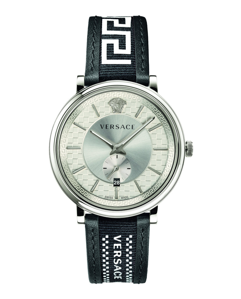 V-Circle Greca Edition Leather Watch