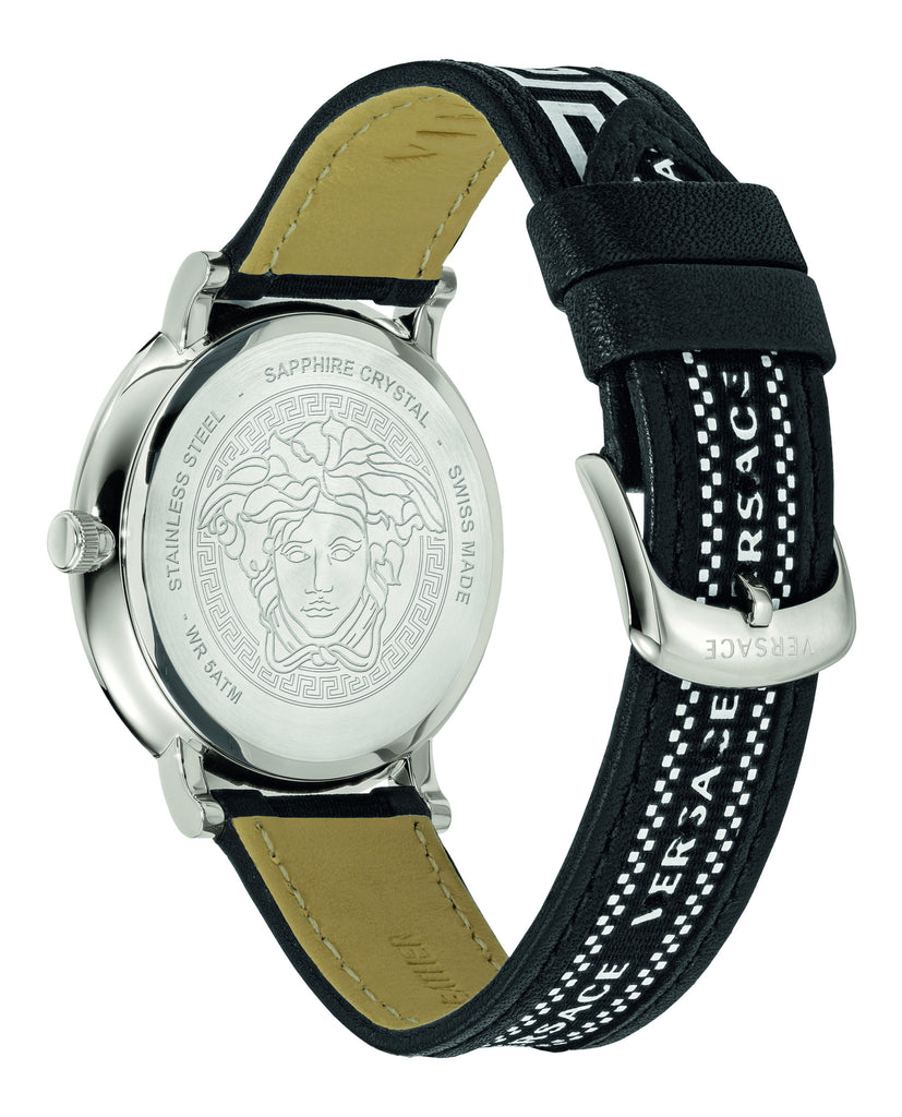 Versace V-Circle-Greca Editi Watch