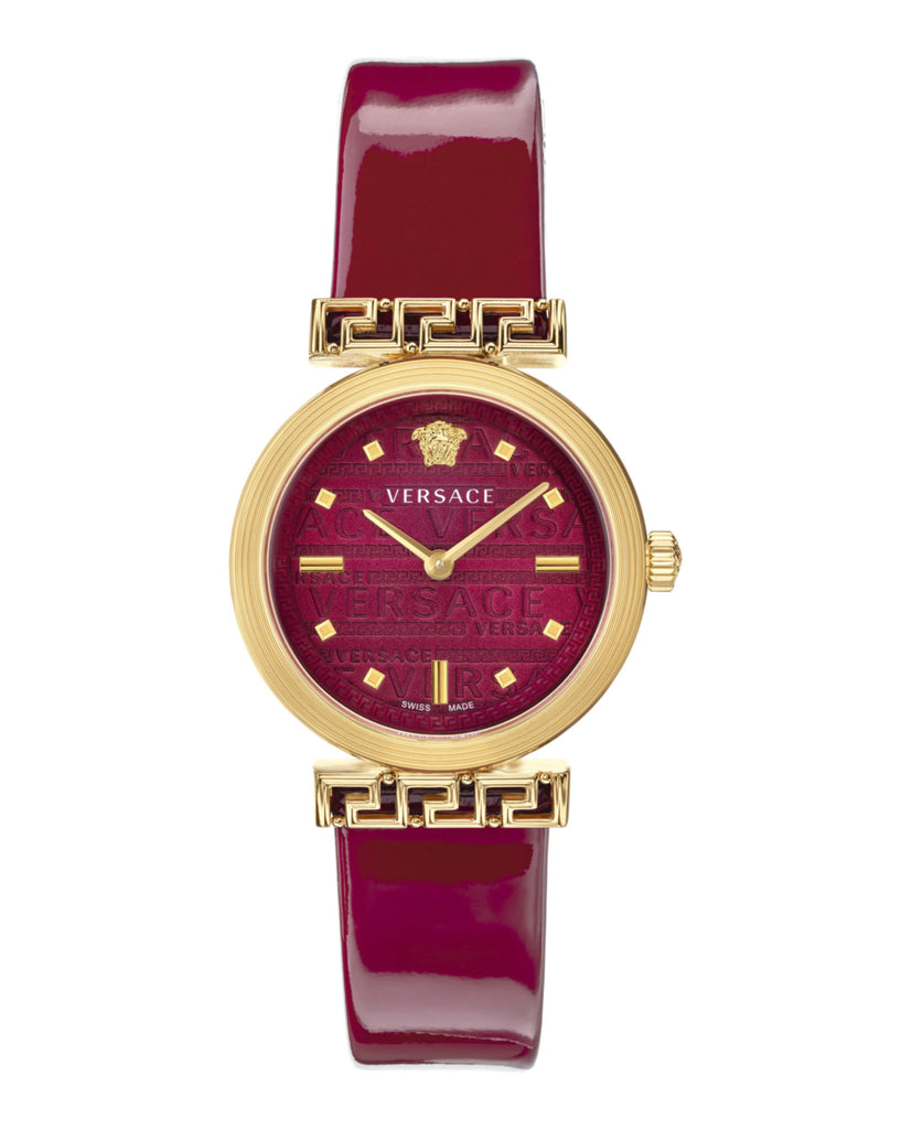 Meander Patent Leather Watch