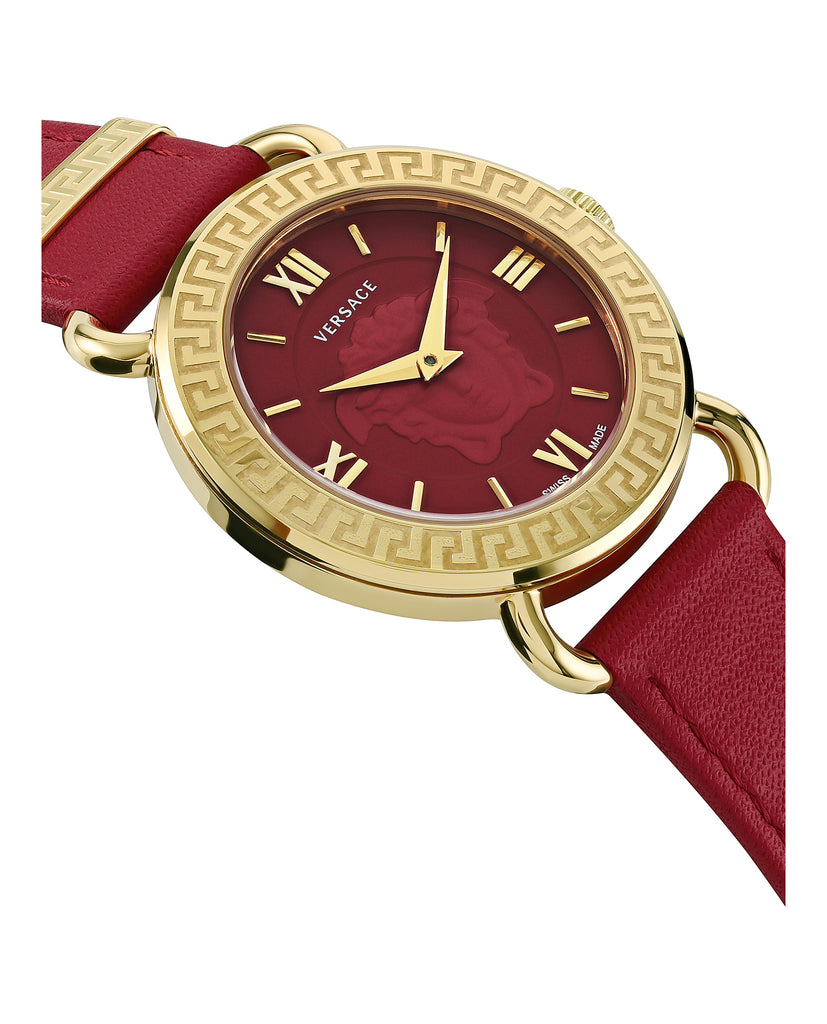 Medusa Leather Watch