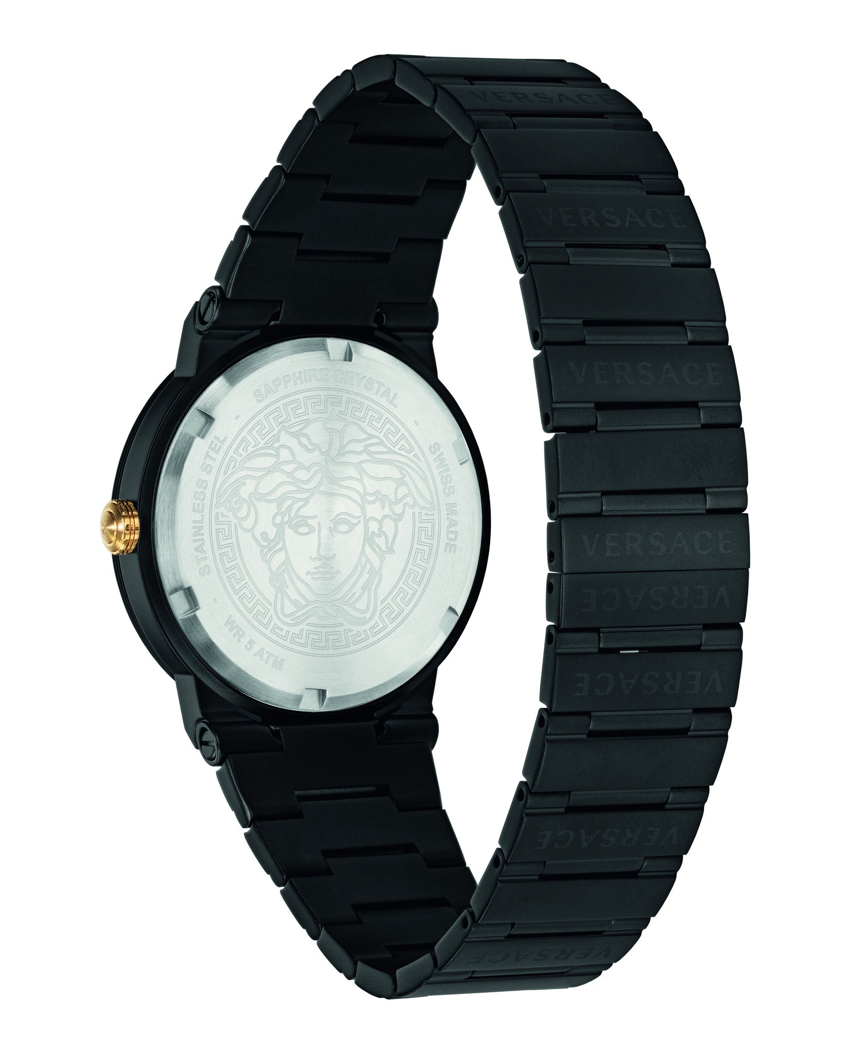 Greca Logo Bracelet Watch