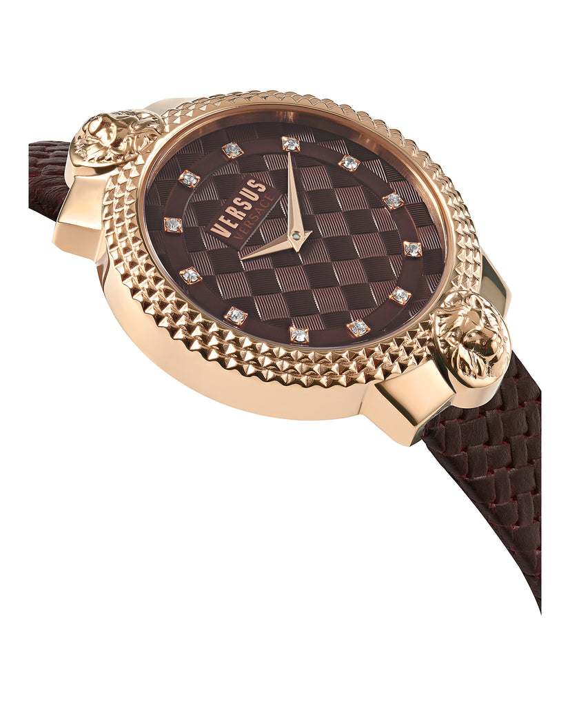 Mouffetard Leather Watch