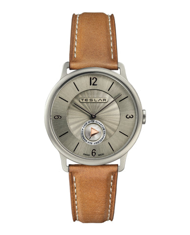 RE-BALANCE T-1 Leather Watch