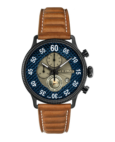 Teslar Re-Balance T-1 Chrono Sport Watch