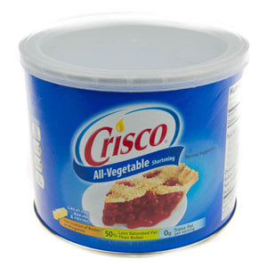All Vegetable Shortening Crisco