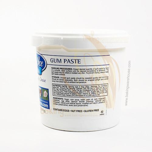 gum paste satin ice