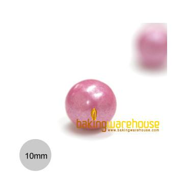 Chocolate Pearl 10mm -Shimmer Pink