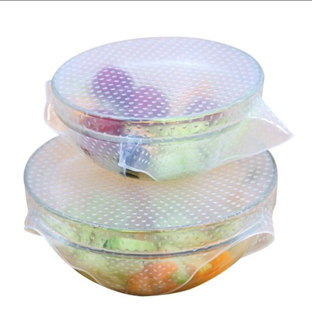 Stretch and Fresh Reusable Food Wraps