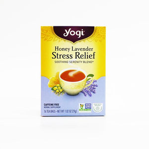 Yogi Stress Relief Honey Lavender Tea bags