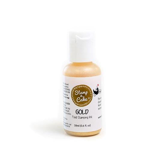 Stamp a cake - Stamp Ink Gold 18ml