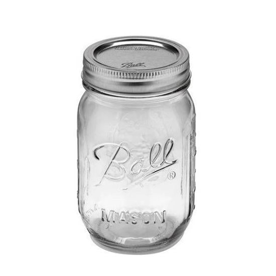 Ball Mason Jar 16oz regular mouth